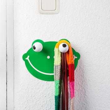 Wall Hook & Decal Hookly Froggy Frog