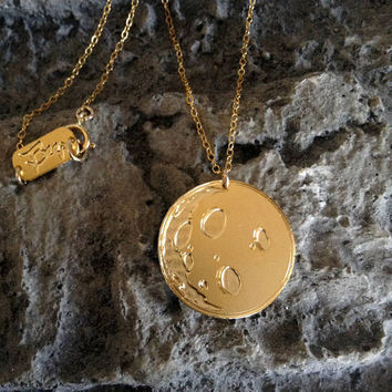 Gold Moon Pendant Gold Filled And Silver Necklace Moon Icon Jewelry Design Planet Art Logo Beep Studio World Map Small Minimalist