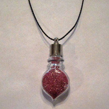 Amortentia Potion Bottle Necklace - Harry Potter Jewelry - Love Potion - Half Blood Prince