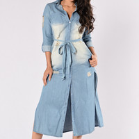 Ain't Ever Getting Older Dress - Denim