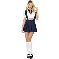 Sexy Back to School Girl Halloween Costume