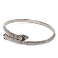 Gypsy Warrior Snake Arm Cuff - Womens Jewelry - Silver - One