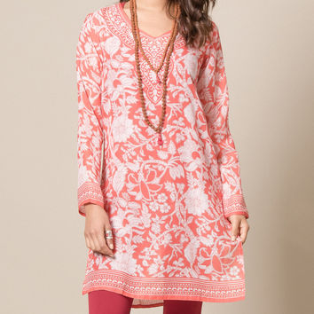 Himalayan Fire and Ice Tunic
