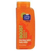 Clean & Clear® Morning Burst Body Wash - Mango and Papaya 16 oz