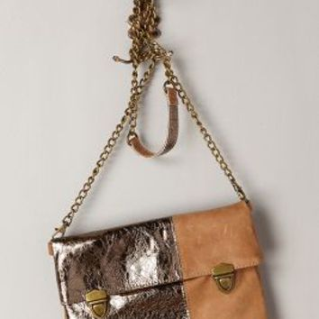 Sunset Crossbody Bag by Schuler & Sons Gold One Size Bags