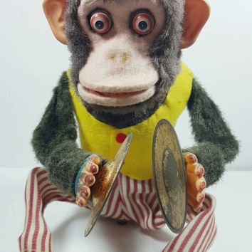 Fallout 4 Monkey With Cymbals From Vintageeccentrics On Etsy