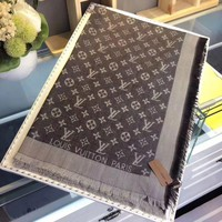 One-nice™ Perfect Louis Vuitton Women Wool Scarf Shawl Silk Scarf