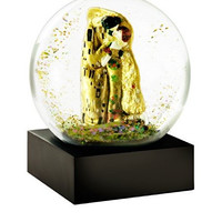 The Kiss Snow Globe