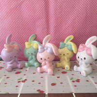 Sweet pearl bunnyscafe bunny squishy scented