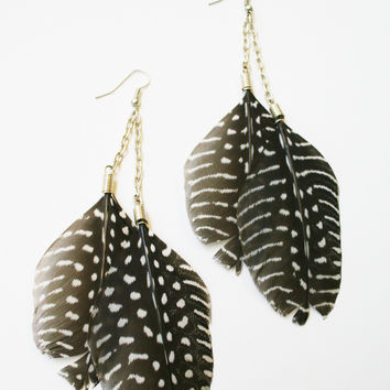 Malaika Feather Earrings