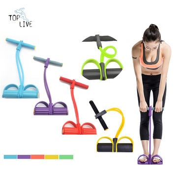Body Exercise Equipment Resistance Bands Training Equipment Tube Workout Equipment Fitness Band Stretch Elastic Resistance