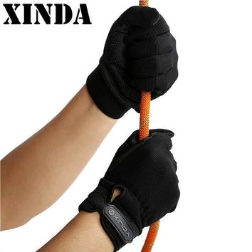 High-Quality Outdoor Anti-Skid Gloves Rock Climbing Gloves All Refers To Climbing Gloves Riding Tactical Crash Gloves PYY6679