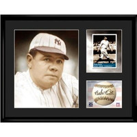 New York Yankees MLB Babe Ruth- Limited Edition Toon Collectible With Facsimile Signature.