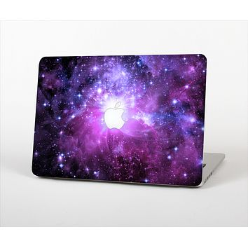 The Purple Space Neon Explosion Skin Set for the Apple MacBook Air 11""