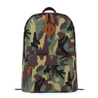 ZLYC Camouflage Canvas Backpack