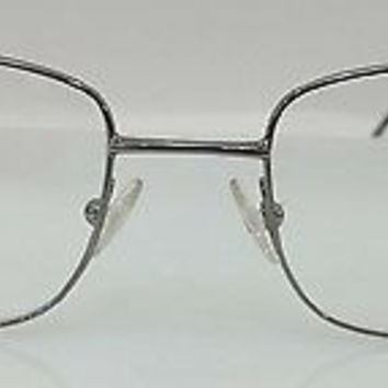 NEW AUTHENTIC GIORGIO ARMANI GA 23 COL 6LB GUNMETAL EYEGLASSES FRAME 52MM O