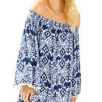 Nita Off The Shoulder Cover-Up | 25636 | Lilly Pulitzer