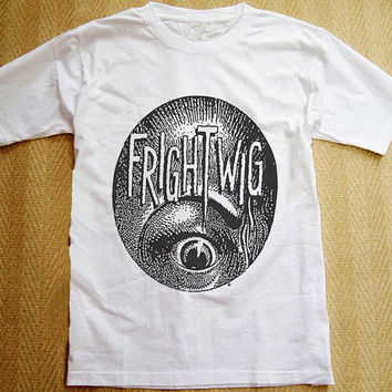 Frightwig T-Shirt Punk Rock Music Woman Teen Man Short Sleeve  T-Shirt