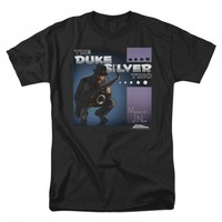 PARKS AND RECREATION DUKE SILVER TRIO ALBUM COVER T-SHIRT