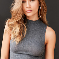 Out From Under Shrunken Mock Neck Top | Urban Outfitters