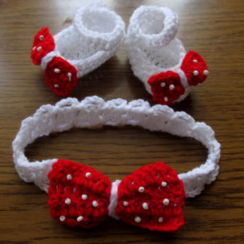 Baby Crochet ballerina shoes and headband Pattern Newborn up to 12 months   Baby shoes, Ballerina Slippers