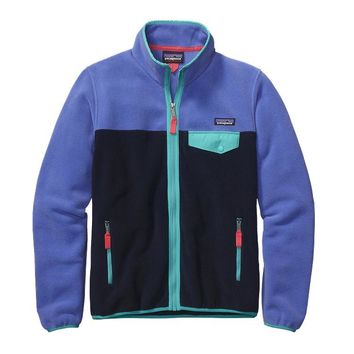 Patagonia Women's Full-Zip Snap-T® Fleece Jacket | Violet Blue
