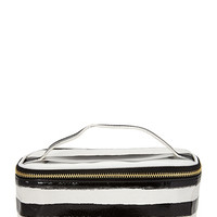 FOREVER 21 Painted Stripe Makeup Bag