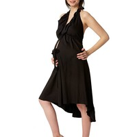 Pretty Pushers Ruffle Labor  & Delivery Gown