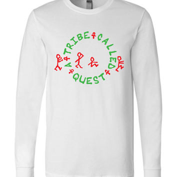 A Tribe Called Quest Canvas Long Sleeve T-Shirt