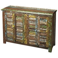 Reclaimed Wood Haveli Sideboard