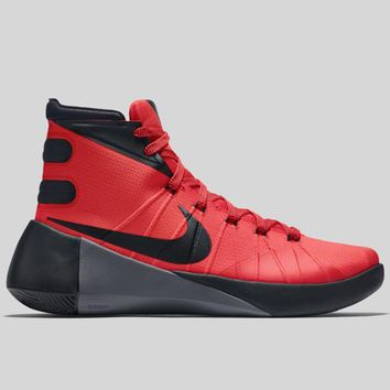 AUGUAU Nike Hyperdunk 2015 EP Bright Crimson Black Dark Grey