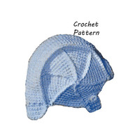 Baby Aviator Hat or Cap Crochet Pattern || Vintage 1960's ||Reproduction PDF Instant Download 6025-60