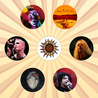 Buttonpalooza - The one-stop-shop for all your pinback button and button magnet needs! : ALICE IN CHAINS Grunge