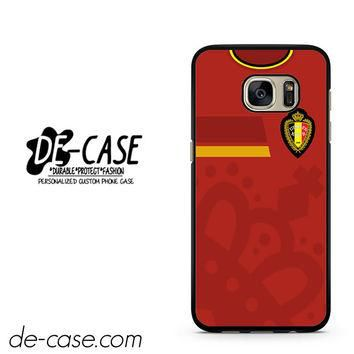Belgium Soccer Jersey DEAL-1724 Samsung Phonecase Cover For Samsung Galaxy S7 / S7 Edg
