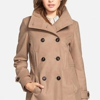 Thread & Supply Double Breasted Peacoat (Juniors) | Nordstrom