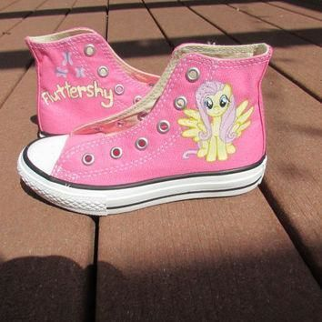 custom painted my little pony friendship is magic youth converse