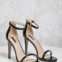 Patent Faux Leather Heels