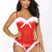 Holiday Hunny Teddy - Red