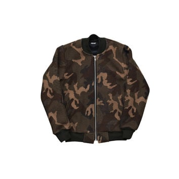 Wool Bomber Camo | Palace Skateboards