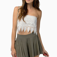 Nikki Crochet Tube Top $28