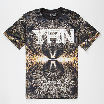 Yrn Paris Mens T-Shirt Black  In Sizes
