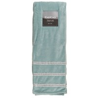 Bling Trim Mineral Green Throw Blanket 612759983