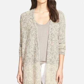 Women's NIC+ZOE 'Falsetto' Fringe Cardigan,