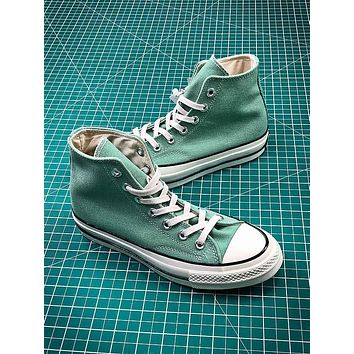 Converse 1970s 157437C Green High Sneakers Shoes - Sale