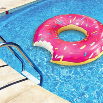 Walmart: Gigantic 4' Donut Pool Float