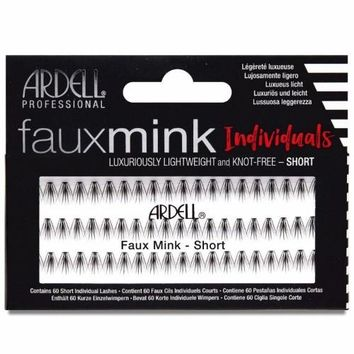 Ardell - Faux Mink Individuals Knot Free - Short Black