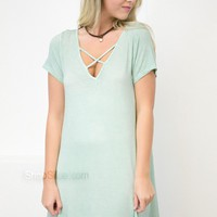 Mint Pocket Dress