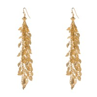 FARRAH Fringe Earrings - Gold