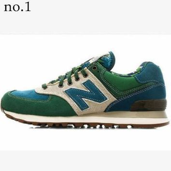 New Balance 2018 new men and women trend wild couple models sports shoes NO.1