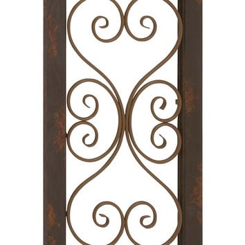 Elegant And Attractive Wood Metal Wall Panel